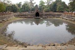 Rovine del tempio di Neak Pean Fotografie Stock