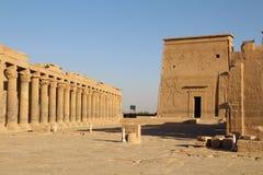 Rovine del tempio di Philae Fotografie Stock