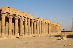 Rovine del tempio di Philae Immagine Stock