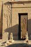 Rovine del tempio di Philae Fotografia Stock Libera da Diritti