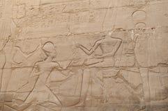Rovine del tempio egiziano antico Fotografia Stock Libera da Diritti