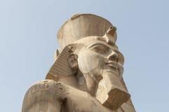 Rovine del tempio egiziano antico Fotografie Stock