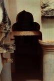Rovine dell'arco del palazzo di maratha del thanjavur Immagine Stock
