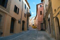 Rovine dell'ombra di Nocera Fotografie Stock