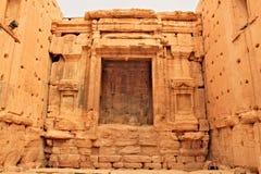 Rovine della città antica di Palmira Fotografie Stock