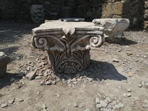 Rovine della città antica immagini stock libere da diritti