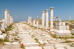 Rovine della città antica Laodicea sul Lycus fotografia stock libera da diritti