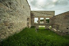 Rovine della città fantasma di Fayette fotografie stock