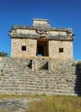 Rovine della città maya antica di Dzibillchaltun, Messico Fotografia Stock Libera da Diritti