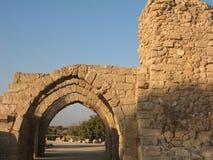 Rovine della città orientale antica Immagini Stock