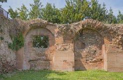 Rovine della collina del palatino, Roma, Italia Fotografia Stock