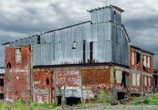 Rovine della fabbrica Fotografia Stock