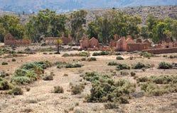Rovine della fattoria di Kanyaka di abbandono. Australia Meridionale fotografie stock libere da diritti