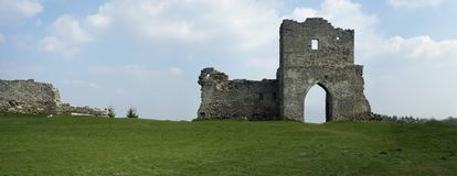 Rovine della fortezza Fotografia Stock