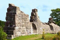 Rovine della fortezza Immagine Stock Libera da Diritti