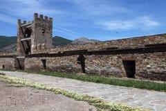 Rovine della fortezza di Genova Immagini Stock