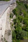 rovine della parete Immagine Stock
