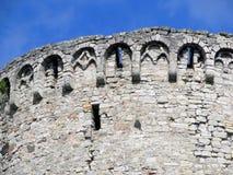 Rovine della torre di Catle fotografia stock
