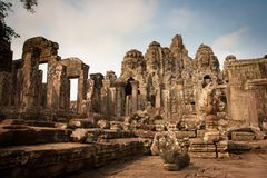Rovine delle tempie, Angkor, Cambogia immagini stock libere da diritti