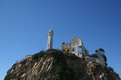 Rovine di Alcatraz Immagini Stock