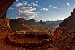 Rovine di Anasazi Immagini Stock