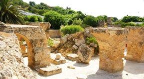 Rovine di Antonine Baths Fotografia Stock