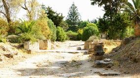 Rovine di Antonine Baths Immagini Stock