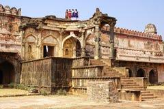 Rovine di architettura afgana in Mandu, India Fotografia Stock Libera da Diritti