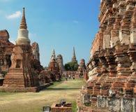 Rovine di Ayutthaya fotografia stock
