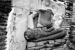 Rovine di Ayutthaya Fotografie Stock Libere da Diritti