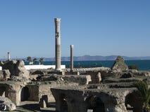 Rovine di Carthage Immagini Stock Libere da Diritti