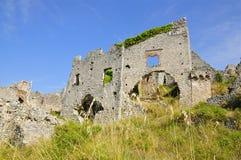 Rovine di Cirella, Cosenza, Calabria Immagini Stock Libere da Diritti