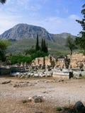 Rovine di Corinto Immagine Stock