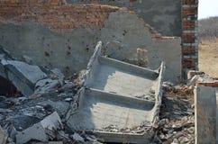 Rovine di costruzione 5 Fotografia Stock