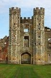 Rovine di Cowdray, Sussex ad ovest Fotografie Stock