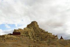 Rovine di dinastia del guge nel Tibet Immagini Stock Libere da Diritti
