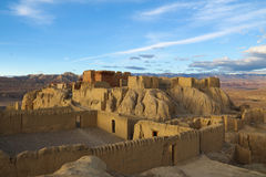 Rovine di dinastia del guge nel Tibet Fotografie Stock