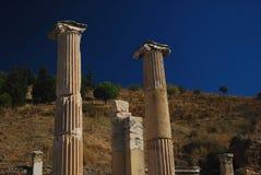 Rovine di Ephesus Fotografia Stock