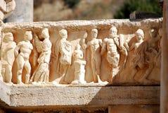 Rovine di Ephesus Fotografie Stock Libere da Diritti