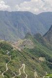 Rovine di Machu Picchu Immagine Stock Libera da Diritti