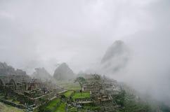 Rovine di Machu Picchu fotografia stock libera da diritti