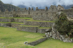 Rovine di Machu Picchu nel Perù Immagine Stock