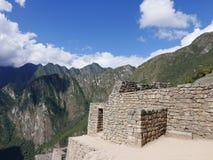 Rovine di Machu Picchu nella regione di Cusco di Perù Immagini Stock