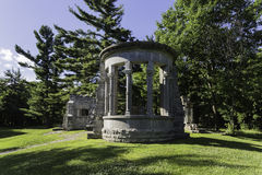 Rovine di MacKenzie King Estate Immagini Stock