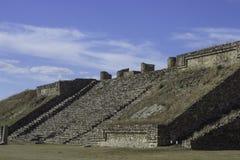 rovine di Monte-Alban Fotografie Stock