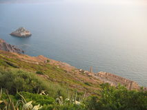 Rovine di Nebida - Sardegna immagine stock libera da diritti