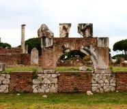 Rovine di Ostia Antica Fotografie Stock