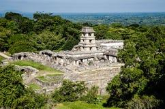 Rovine di Palenque Fotografie Stock