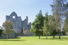 Rovine di pietra del castello Immagine Stock Libera da Diritti