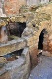 Rovine di Pompei Immagini Stock